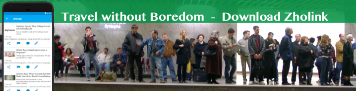 subway line of people without WiFi